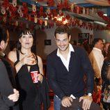Irene Villa y Juan Pablo Lauro en el homenaje a Antonio Flores en el Rastrillo 2012