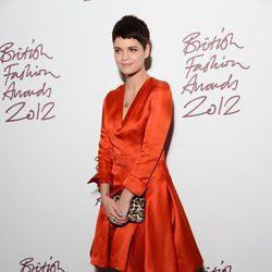 Pixie Geldof en los British Fashion Awards 2012