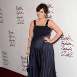 Lily Allen en los British Fashion Awards 2012