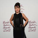 Salma Hayek en los British Fashion Awards 2012
