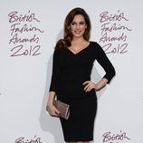 Kelly Brook en los British Fashion Awards 2012