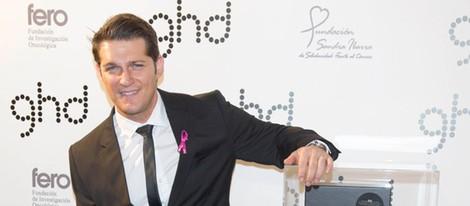 Manu Tenorio en la fiesta Pink organizada por Ghd