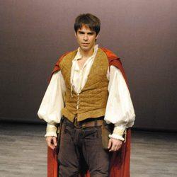 Álex Barahona en el estreno de la obra de teatro 'Romeo'
