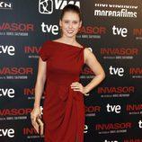 Manuela Vellés en el estreno de 'Invasor' en Madrid