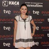 Ana Arias en el estreno de 'Invasor' en Madrid