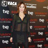 Nathalie Poza en el estreno de 'Invasor' en Madrid