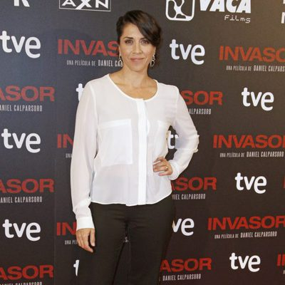 Alicia Borrachero en el estreno de 'Invasor' en Madrid