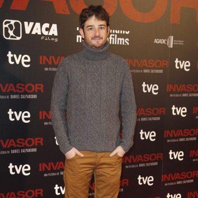 Gorka Otxoa en el estreno de 'Invasor' en Madrid