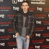 David Castillo en el estreno de 'Invasor' en Madrid