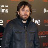 Daniel Sánchez Arévalo en el estreno de 'Invasor' en Madrid