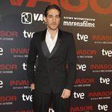 Alberto Ammann en el estreno de 'Invasor' en Madrid