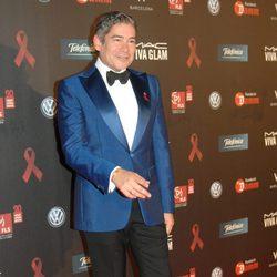 Boris Izaguirre en la gala contra el Sida 2012 de Barcelona
