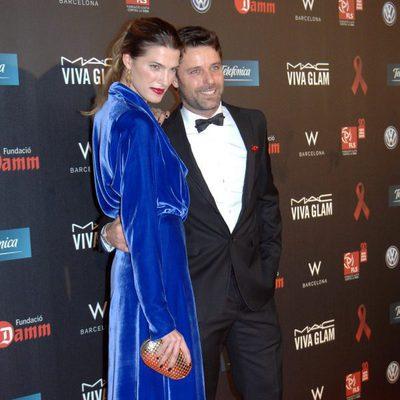 Laura Sánchez y David Ascanio en la gala contra el Sida 2012 de Barcelona