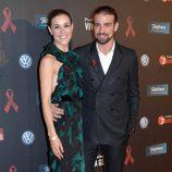 Raquel Sánchez Silva y Mario Biondo en la gala contra el Sida 2012 de Barcelona