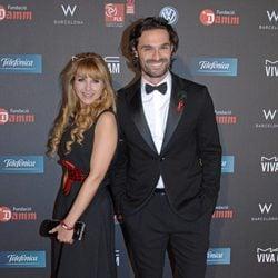 Iván Sánchez en la gala contra el Sida 2012 de Barcelona