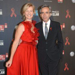 Imanol Arias y Ana Duato en la gala contra el Sida 2012 de Barcelona