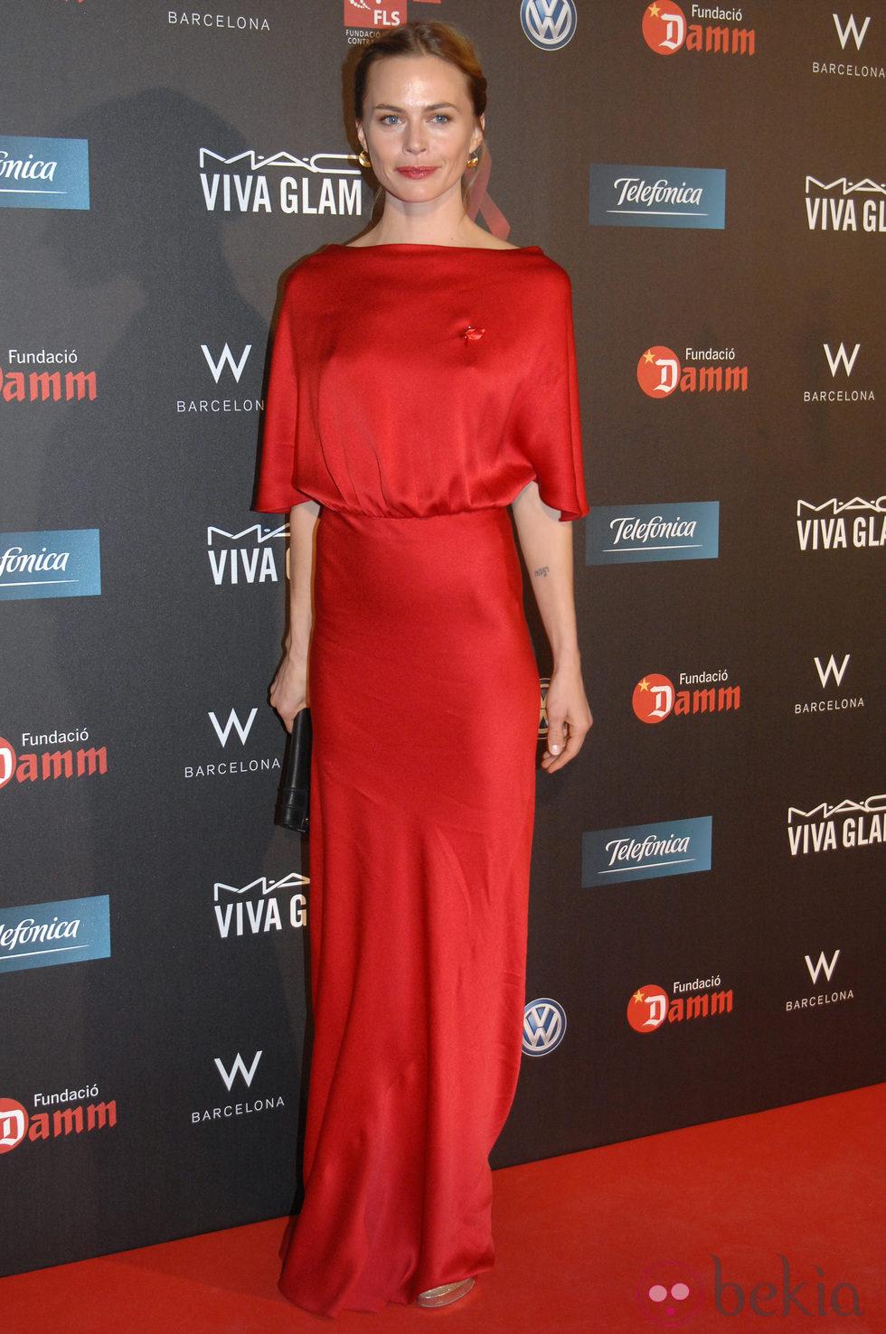 Verónica Blume en la gala contra el Sida 2012 de Barcelona