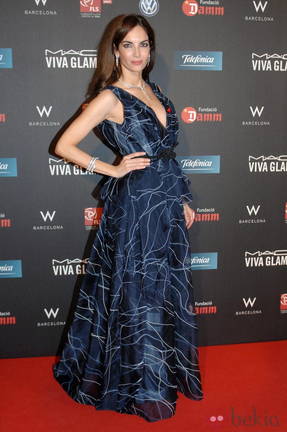 Eugenia Silva en la gala contra el Sida 2012 de Barcelona