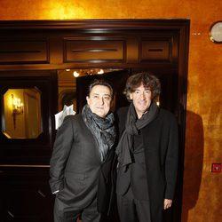 Mariano Peña y Francis Lorenzo en los Premios Ondas 2012