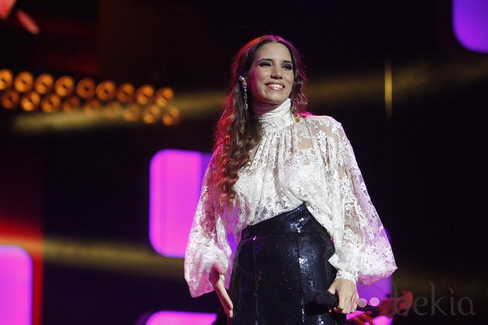 India Martínez en los Premios Ondas 2012