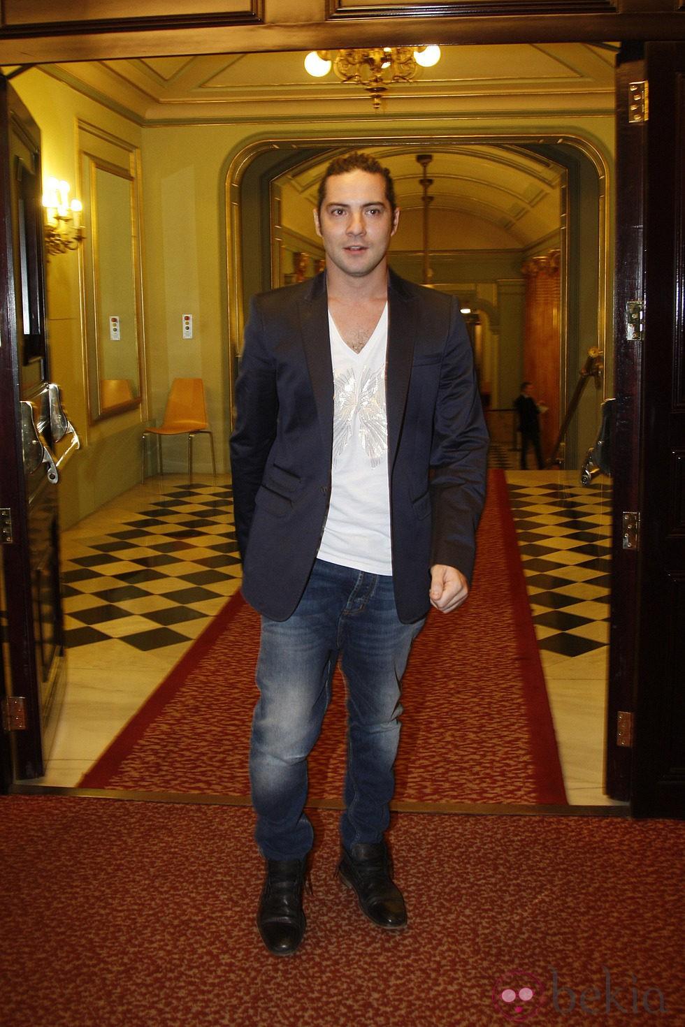 David Bisbal en los Premios Ondas 2012