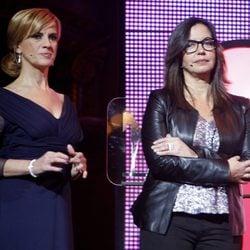 Gemma Nierga y Àngels Barceló en los Premios Ondas 2012