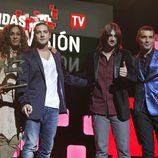 Rosario Flores, David Bisbal, Melendi y Jesús Vázquez en los Premios Ondas 2012