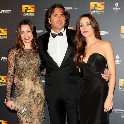 Natalia Verbeke, Antonio Garrido y Nerea Garmendia presentan un acto de videojuegos