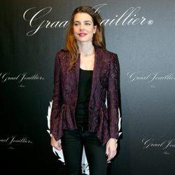 Carlota Casiraghi en el Gucci Paris Masters 2012