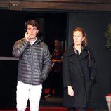 Marta Ortega y Sergio Álvarez en el Master Gucci de París 2012