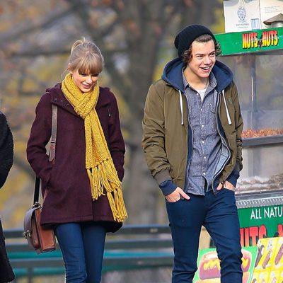 Harry Styles se divierte con Taylor Swift en un romántico paseo