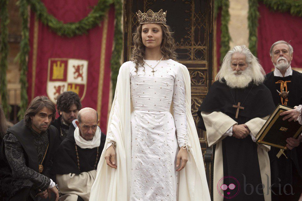 Michelle Jenner coronada como Reina de Castilla
