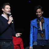 Ryan Seacret y Alicia Keys en el concierto Jingle Ball 2012 en Los Angeles