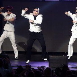 Psy en el concierto Jingle Ball 2012 en Los Angeles