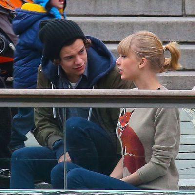 Harry Styles con Taylor Swift viendo a los leones marinos