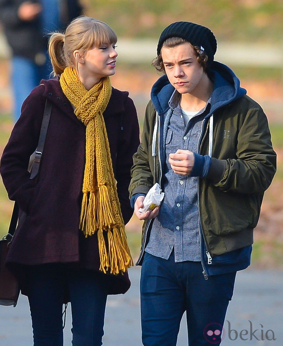 Harry Styles y Taylor Swift de paseo por Central Park
