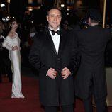 Russell Crowe en el estreno de 'Los Miserables' en Londres