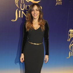 Irene Montalà en el estreno del musical 'El último jinete'