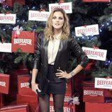 Amaia Salamanca enciende el árbol de Navidad del Palacio de Cibeles de Madrid