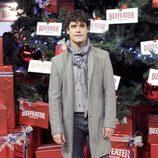Miguel Abellán enciende el árbol de Navidad del Palacio de Cibeles de Madrid