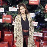 Samantha Vallejo Nájera enciende el árbol de Navidad del Palacio de Cibeles de Madrid
