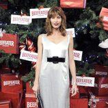 Cristina Piaget enciende el árbol de Navidad del Palacio de Cibeles de Madrid