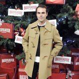 Ion Fiz enciende el árbol de Navidad del Palacio de Cibeles de Madrid