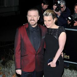 Ricky Gervais en los Military Awards 2012