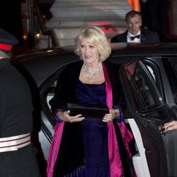 La Duquesa de Cornualles en los Military Awards 2012