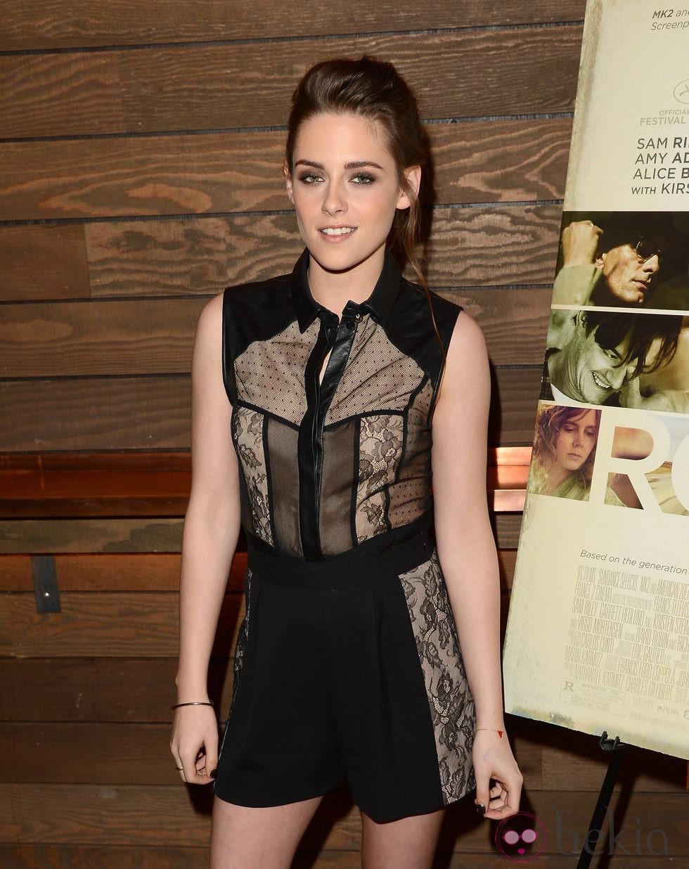 Kristen Stewart promociona 'On The Road'