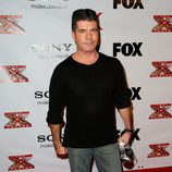 Simon Cowell en una fiesta de 'The X Factor'