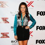 Khloe Kardashian en una fiesta de 'The X Factor'