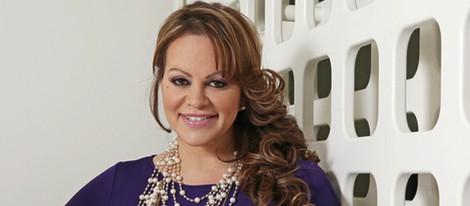 Jenni Rivera durante una entrevista en Los Ángeles