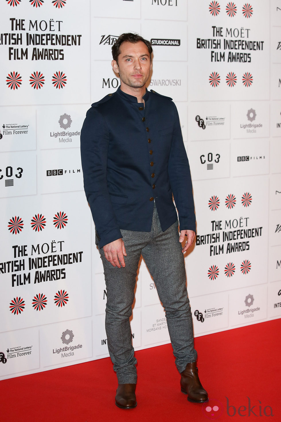 Jude Law en los British Independent Film Awards 2012